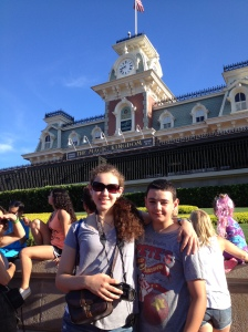 Kathryn and Matt at the Magic Kingdom