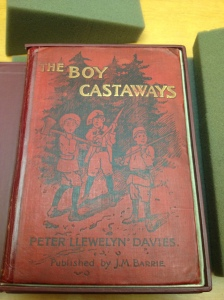 The Boy Castaways. . .