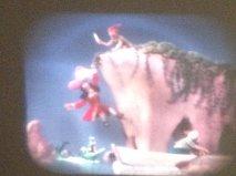 Peter Pan bests Captain Hook. . .again.